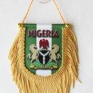 Nigeria Window Hanging Flag (Shield)