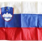 "Slovenia - 12""X18"" Nylon Flag"