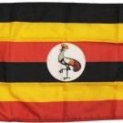 """Uganda - 12""""X18"""" Nylon Flag"""