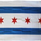Chicago - 3'X5' Polyester Flag