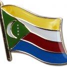 Comoros Flag Lapel Pin