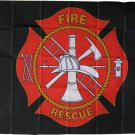 Fire Rescue - 3'X5' Polyester Flag