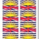 British Columbia 50 Count Sticker Pack