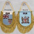 Fiji Window Hanging Flag (Shield)