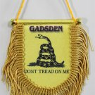 Gadsden (Dont Tread on Me) Window Hanging Flag (Shield)