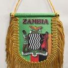 Zambia Window Hanging Flag (Shield)