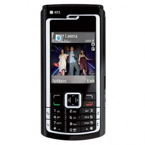 Nokia N72 N-Series Mobile Phone
