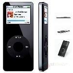 Apple iPod Nano 1GB MP3 Digital Music & Photo Player Black -- MA352LLA