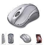Microsoft Wireless Notebook Laser Mouse 6000 Tilt Wheel Magnifier for PC