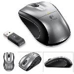 Logitech V450 Laser Cordless Notebook Compact USB Mouse