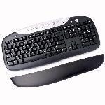 Logitech Elite LE PS/2 Multimedia Keyboard w/ Palm Rest