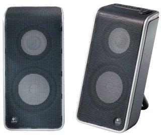 Logitech V20 Portable USB Notebook Laptop PC Speakers