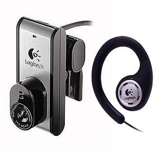 Logitech QuickCam for Notebooks Pro USB Webcam Web Cam