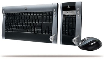 Logitech diNovo Bluetooth Cordless Media Desktop Laser