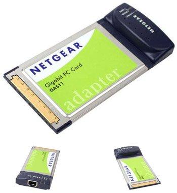 Netgear GA511 10/100/1000 Gigabit Network Notebook Card