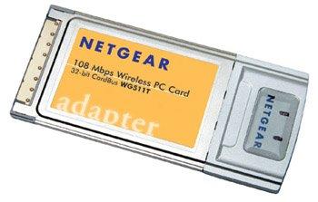 Netgear WG511T 802.11g 108mbps CardBus Wireless Adapter