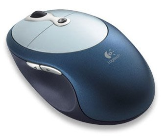 Logitech Cordless Click! Plus Wireless Optical PC Mouse
