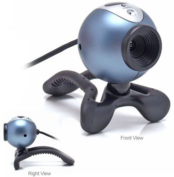 Logitech QuickCam Messenger 2.0 USB Webcam PC web cam