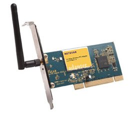 Netgear WG311 V3 802.11g Wireless PCI Network WiFi Card