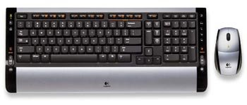 Logitech Cordless Desktop S510 Keyboard +Wireless Mouse