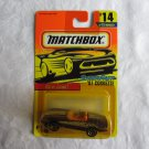 Matchbox 1996 #14 Super Fast '87 Corvette MOC