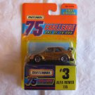 Matchbox 1997 Edition 75 Challenge #3 Alfa Romeo 155 MOC - BEND ON LEFT SIDE