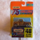 Matchbox 1997 Edition 75 Challenge #48 '56 Ford Pick-Up MOC