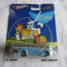 Hot Wheels 2011 Hanna Barbera Presents The Jetsons Surfin' School Bus MOC by Mattel