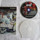 NHL FaceOff 2001  (Sony PlayStation 2, 2001) - BOOKLET, DISC AND PROTECTIVE CASE