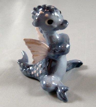 HAGEN RENAKER - Miniature Blue Dragon With Wings - Fantasy