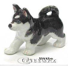 "Little Critterz - ""Bering"" Siberian Husky - LC814"
