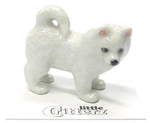 "Little Critterz - ""Eskie"" Eskimo Dog - LC813"
