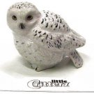 "Little Critterz - ""Ghost"" Snowy Owl - LC127"