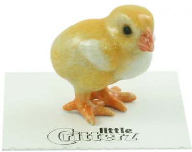 """Little Critterz - """"Peeps"""" Baby Chick - LC844"""