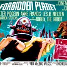 Forbidden Planet Poster 24x36 Robby the Robot Horizontal Rare