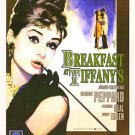 Breakfast at Tiffany's Poster 23x35 Audrey Hepburn RARE Holly Golightly LBD