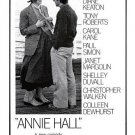 Annie Hall Poster 24x36 inches Woody Allen Diane Keaton