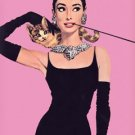 Breakfast at Tiffany's Poster 24x36 Audrey Hepburn PINK