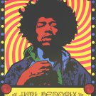 Jimi Hendrix Poster 24x36 Psychedelic 1967 Rare LSD Acid Rock Are You Experienced