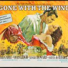 Gone With The Wind Poster 27x37 Horizontal Rhett and Scarlett Vivien Leigh Clark Gable