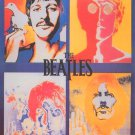 The Beatles Poster 24x36 LSD Psychedelic Acid Poster John Paul George Ringo 1967 Richard Avedon