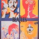 The Beatles Poster 24x36 LSD Psychedelic Acid Poster John Paul George Ringo 1967 Richard Avedon