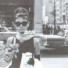 Breakfast at Tiffany's Poster 24x36 Audrey Hepburn Holly Golightly LBD Little Black Dress