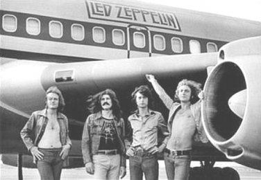 Led Zeppelin Poster 24x36 inches Rober Plant Jimmy Page John Bonham John Paul JonesThe Starship