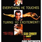 GOLDFINGER Poster 24x36 in James Bond 007 RARE Pussy Galore Shirley Eaton