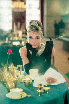 Breakfast at Tiffany's Poster 24x36 Holly Golightly Audrey Hepburn RARE