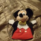 Walt Disney World Mickey Mouse Hand Puppet, Vintage