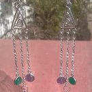 Crystal Buddha Earrings