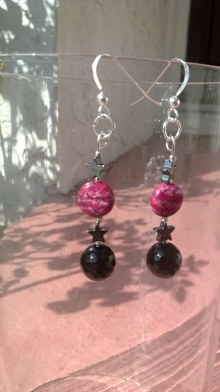 crystal Space Earrings