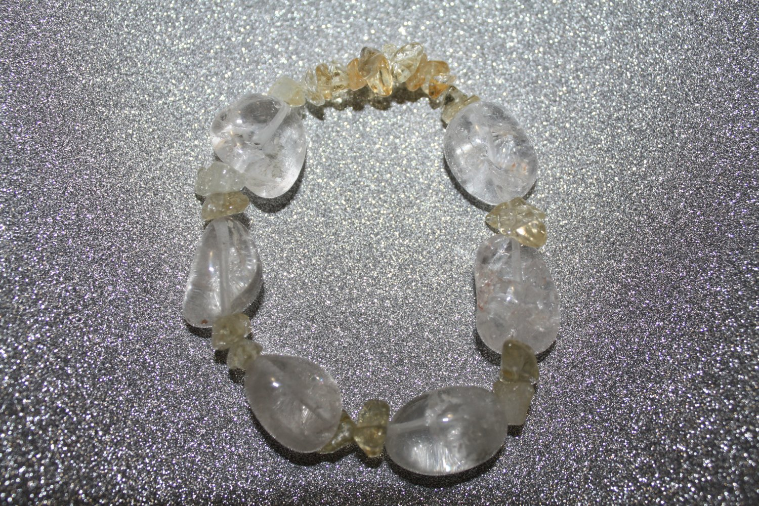 Quartz and citrine